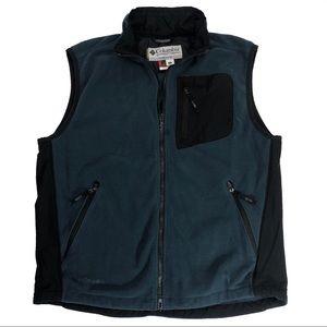 Columbia Titanium Tech Fleece Performance Zip Vest